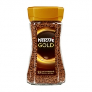 Кофе NESCAFE GOLD   стекло 190 гр,